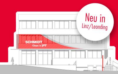Neuer Standort in Linz/LeondingSchmidt plant für die Zukunt