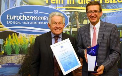 QUALITÄT VERBINDETEWA PROFESSIONAL AWARDFÜR EUROTHERME BAD SCHALLERBACH