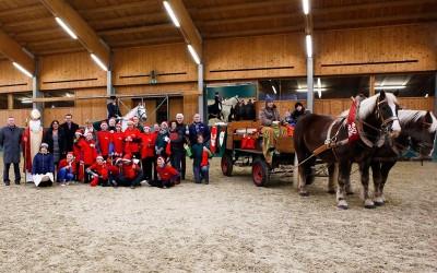 Traditionelle Nikolausfeier für Jugendliche der Peter Petersen Landesschule07. Dez. 2016.