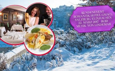 Eine Branche trifft sichBäderkongress 2017 in SalzburgKundenevent im RomantikHOTEL Gmachl