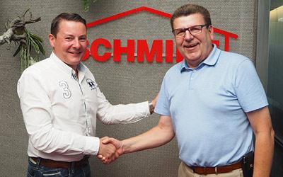 Schmidt weiterhin Hauptsponsor der Fußballakademie