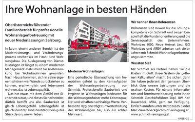Salzburger Nachrichten Immobilienbeilage Juli 2917