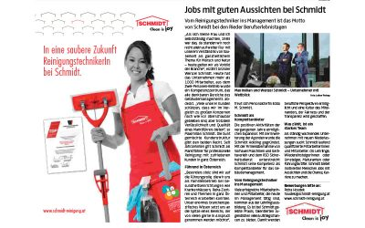 Oberösterreichische NachrichtenSchmidt Lehrlingsausbildung