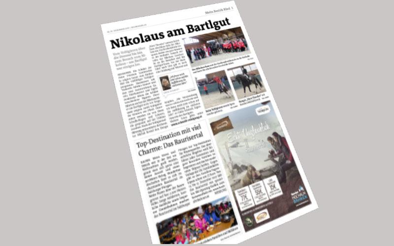 Nikolausfeier 6. Dezember 2017 am Bartlgut