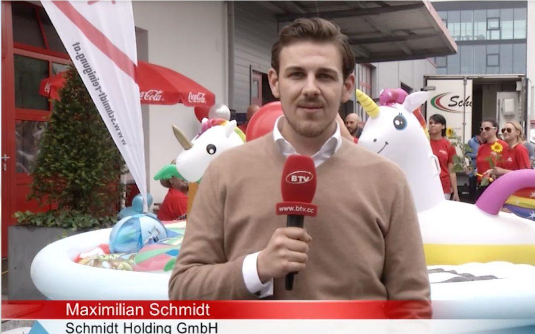 Schmidt Grill Pool Challenge 2018 – Scheck für Sozialzentrum Ried Im Innkreis