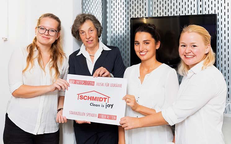 Finanzielle Unterstützung Musik für Leukämie im Pailais Schönborn Wien