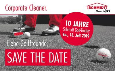 Schmidt Golfturnier feiert 10 jähriges Jubiläum