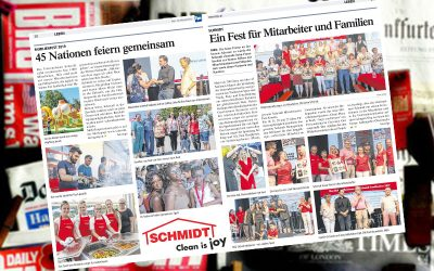 Schmidt Familienfest Pressebericht