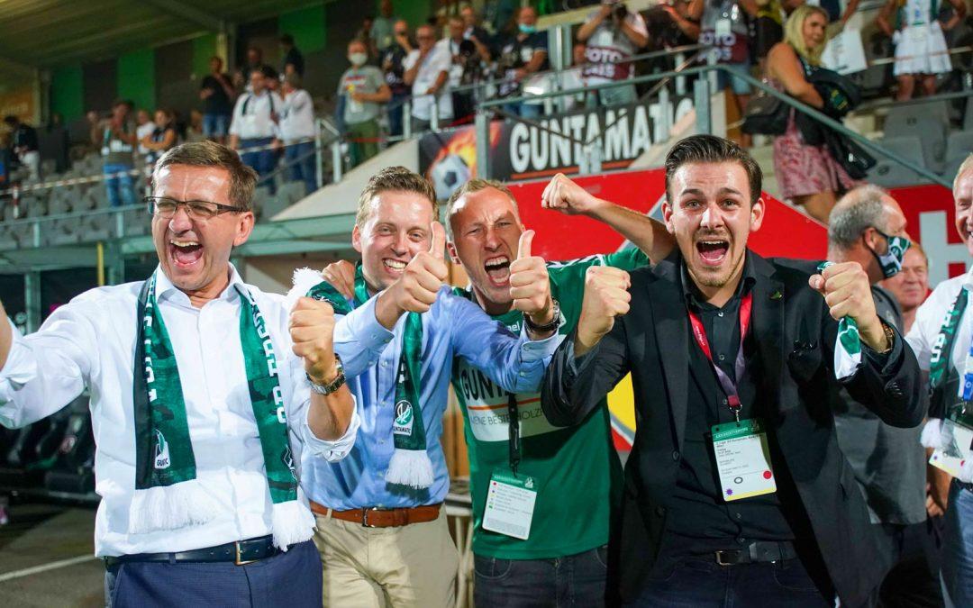 Grandioser SV Ried AbendAufstieg mit 9:0 SchützenfestWir gratulieren
