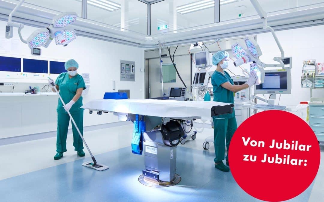 25 Jahre Vinzenz Gruppe60 Jahre Krankenhausreinigung