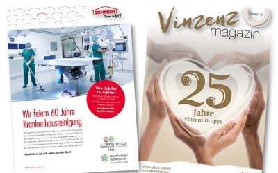 Jubiläumsausgabe25 Jahre Vinzenz Gruppe